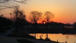 早朝の風景2